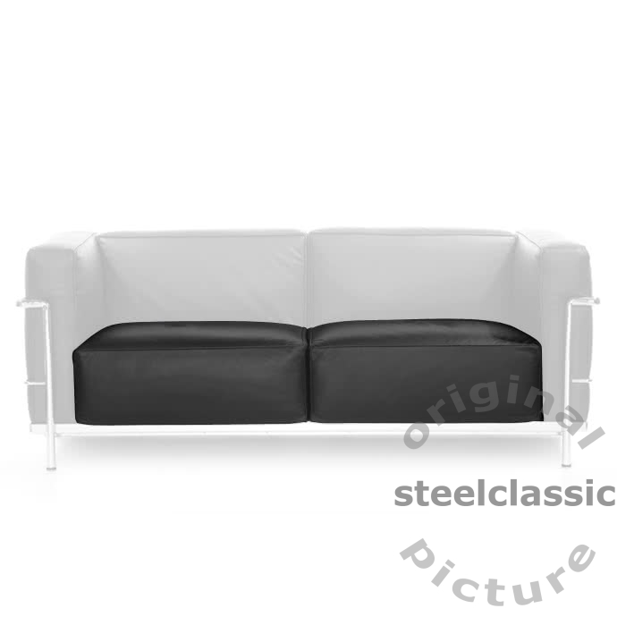 Le Corbusier - Seat Cushions for 2 Seater Sofa LC 3