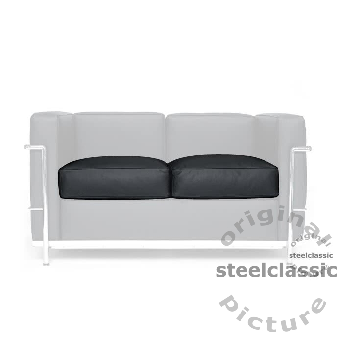 Le Corbusier - Seat cushion for 2 Seater Sofa LC 2