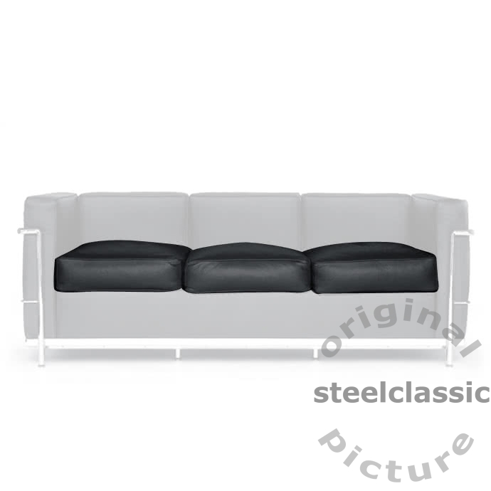 Le Corbusier - Seat cushions for 3 Seater Sofa LC 2